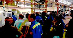 Workers at Petrotrin